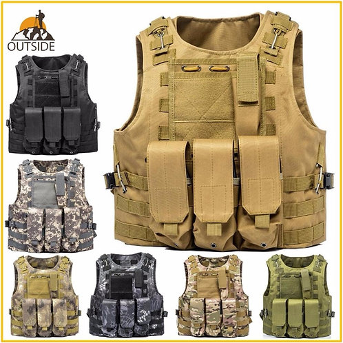 USMC Tactical Vest Combat Assault Plate Carrier