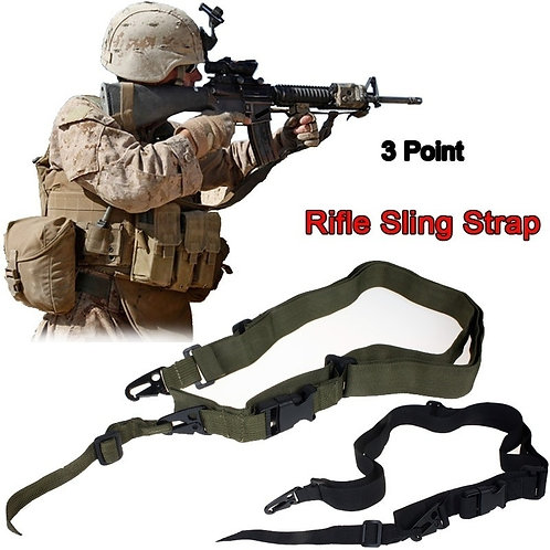Tactical 3 Point Rifle Sling