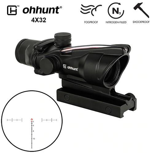 Acog type tactical scope