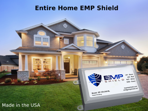 EMP Shield  Entire Home Surge Protector Concealed