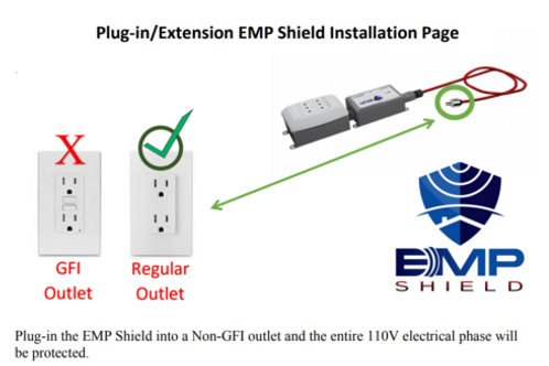 Portable EMP Shield for Renters, RV's, Travel Campers, and Camping