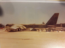 NortonAFB-B52-During Airshow