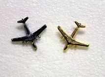 C-141 Lapel Pin & Tie Tac- Gold or Silve