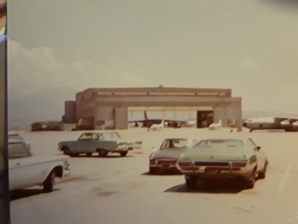 NortonAFB-Flightline parking lot