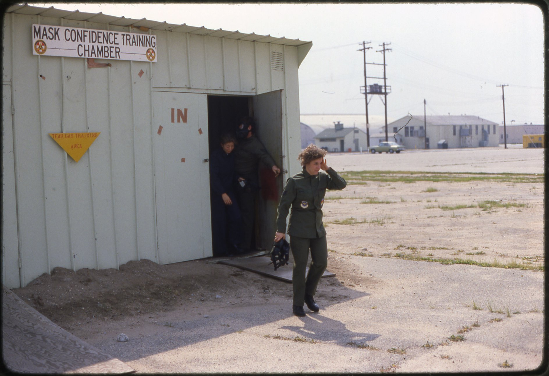 NortonAFB-17-Tear Gas Training