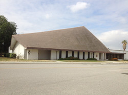 NortonAFB-Base Chapel, Bldg 104, Corner