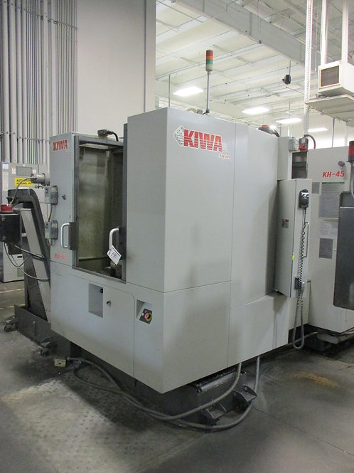 (2) Kiwa KH45; 4th axis