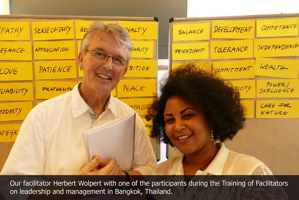 ToF Bangkok: Herbert and participant