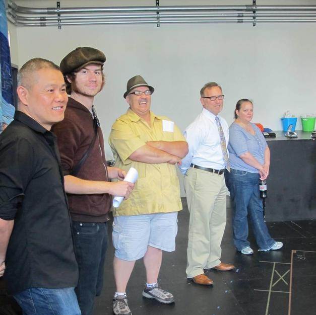 First rehearsals of Victory Gardens ensemble playwright Luis Alfaro's MOJADA