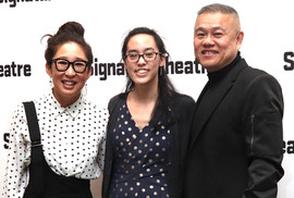 Opening night of CAMBODIAN ROCK BAND with Lauren Yee and Sandra Oh