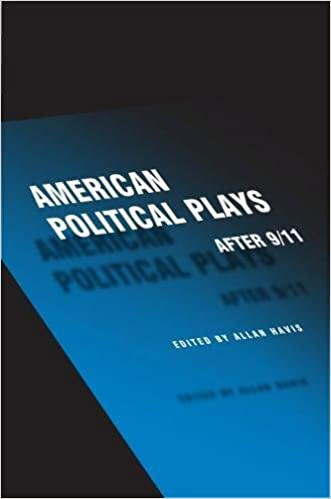 "American Political Plays After 9/11 (Theater in the Americas) Includes Chay Yew's ""Question 27, Question 28"""