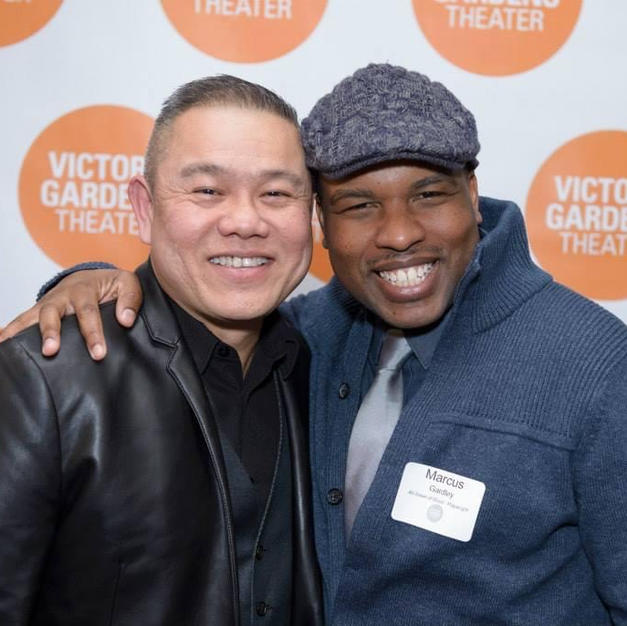 With Victory Gardens ensemble playwright Marcus Gardley