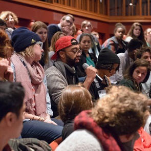 Audiences at Victory Gardens Town Hall: WE MUST BREATHE