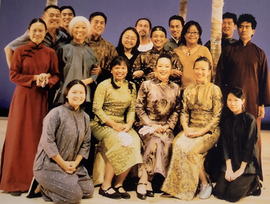 Company photo of A WINTER PEOPLE at Theatre @ Boston Court