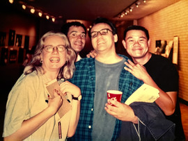During previews of RED at Intiman Theatre with Lisa Peterson, David Roman and Luis Alfaro