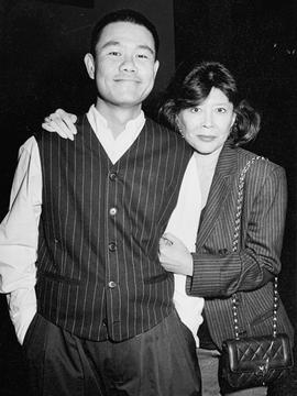 With actor Tsai Chin who was in my play WONDERLAND at La Jolla Playhouse