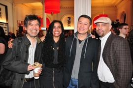 With David Henry Hwang, Suzan Lori Parks and Nilo Cruz