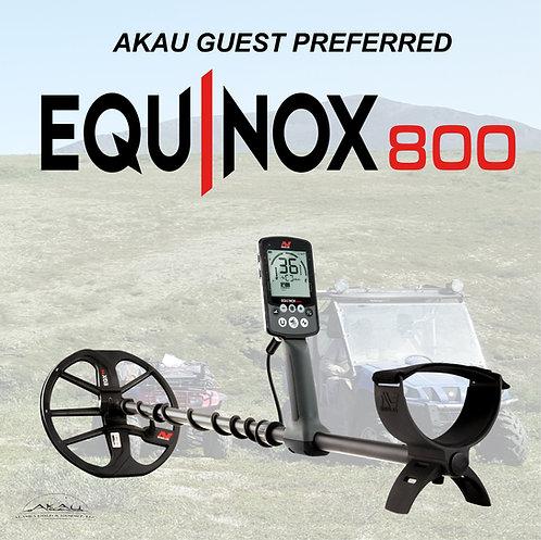 Equinox 800 - 100% Waterproof