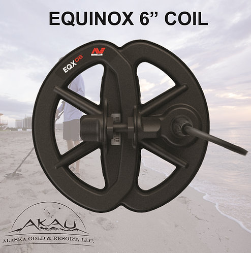 "Equinox 6"" coil - Gold Prospectors MUST HAVE"