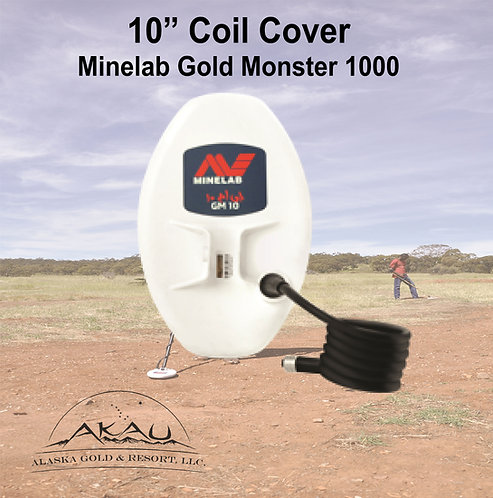 "10"" Coil Cover - Gold Monster 1000"