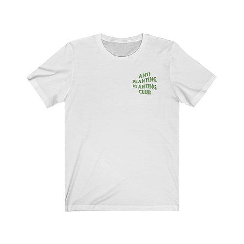 ANTI PLANTING PLANTING CLUB TEE(WHITE)