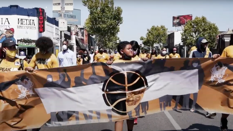 Speak Up and Dribble: Los Angeles