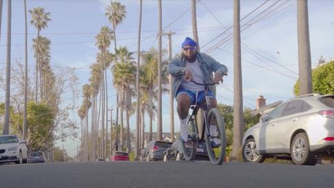 Who Cares: Blue Camo Shorts