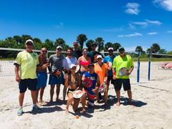Group pic with Coach Rhino