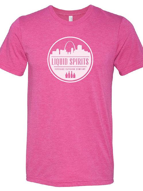 Men's Pink Logo Shirt