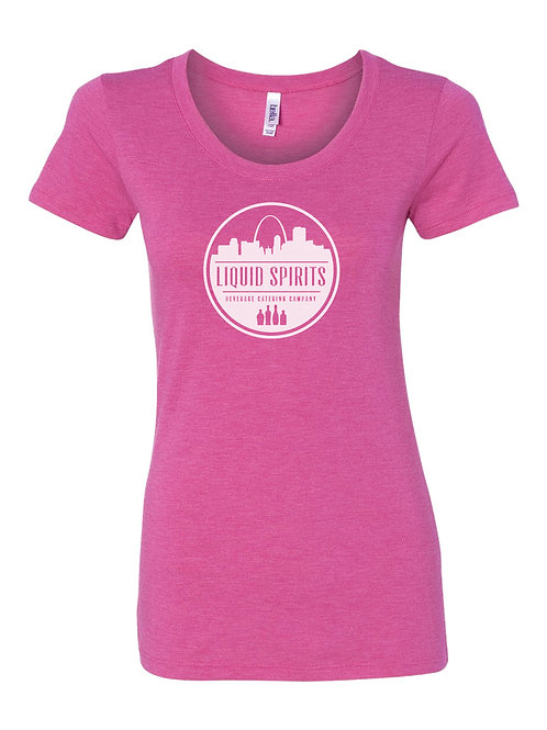 Ladies' Pink Logo Shirt