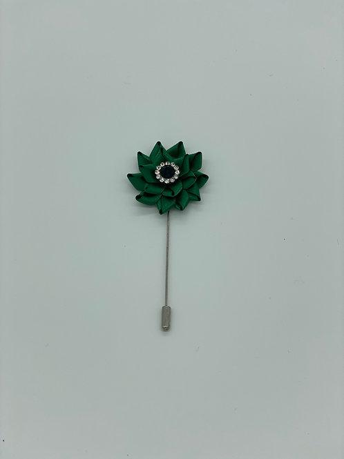 Green Lotus Lapel