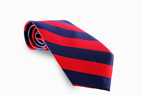 Red and Navy Blue Stripe