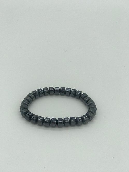 Gunmetal Beaded Bracelet