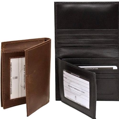 Leather Bi-Fold Men's Wallet