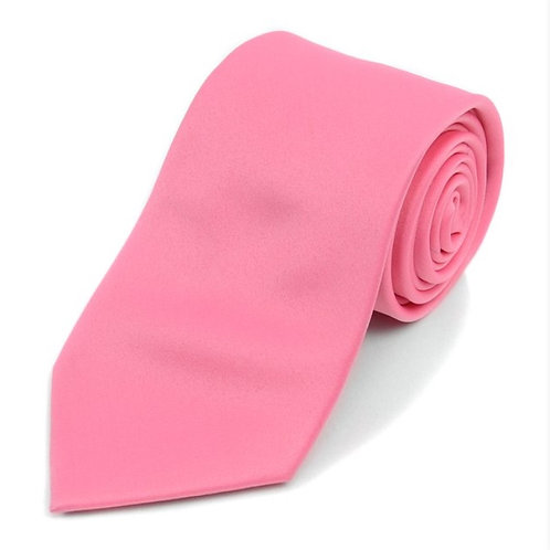 Poly Satin Necktie & Matching Square