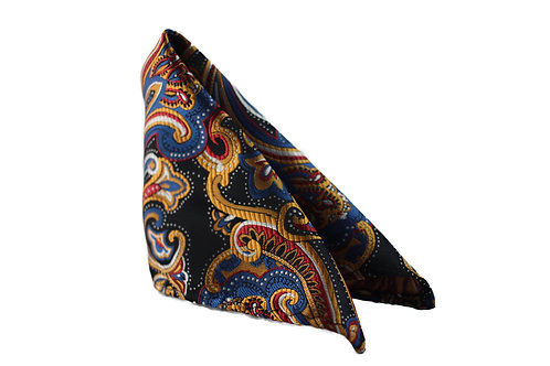 Patterned Pocket Squares    (more patterns and colors)