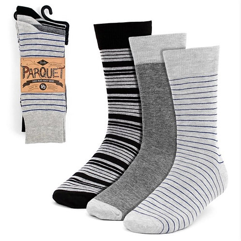 Parquet Gray Assorted (3-Pack)