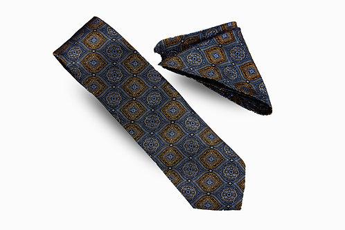 Geometric Necktie Set