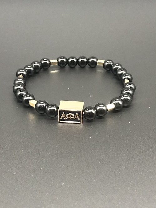 Fraternity Inspired Beaded Bracelet
