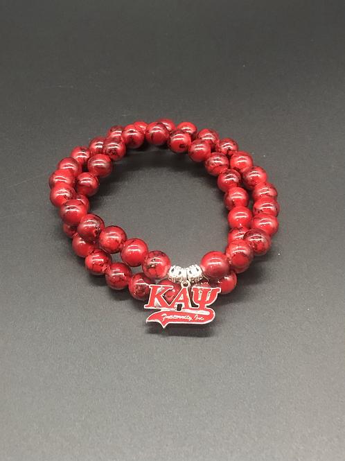 Fraternity Inspired Beaded Bracelet