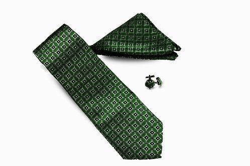 Necktie Set with Cufflinks
