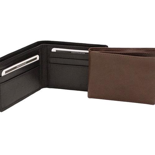 Slim Leather Bi-fold Men's Wallet