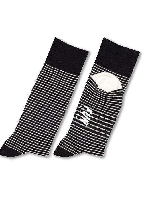Fundamental Stripe Fun Socks