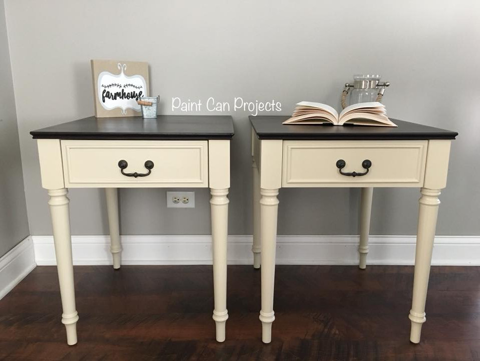 Refinished End Tables