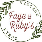 Faye and Ruby's Vintage Finds