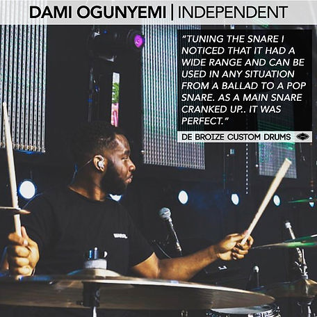 dami-ogunyemi-drummer-review-quote