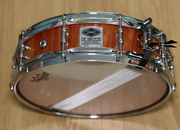 "14""x4"" African Mahogany Stave Snare Drum"