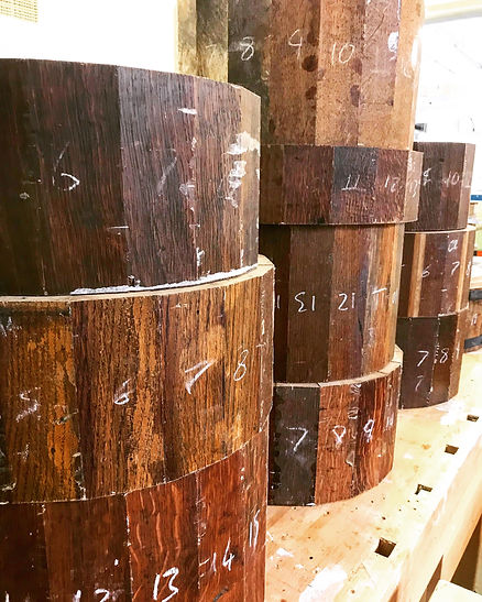 oak-stave-snares-in-production
