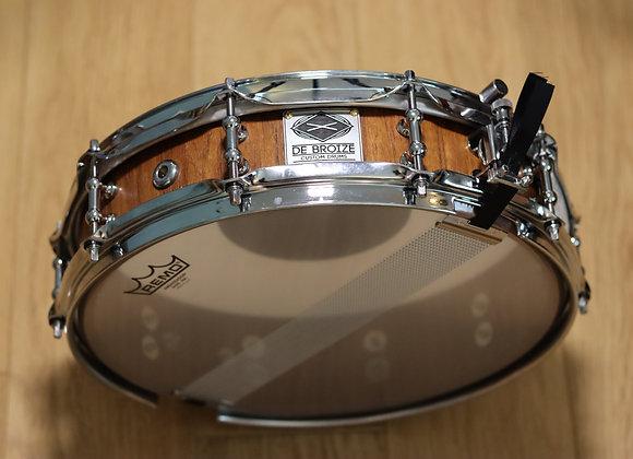"""13""""x4"""" Black Locust Stave Snare Drum"""