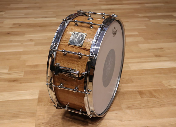 "14""x6"" - Oak Stave Snare Drum"